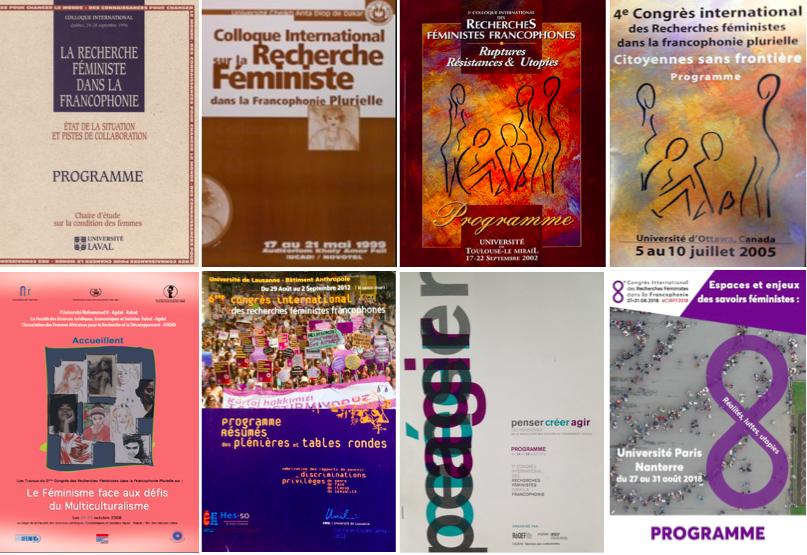 Les programmes des différentes éditions